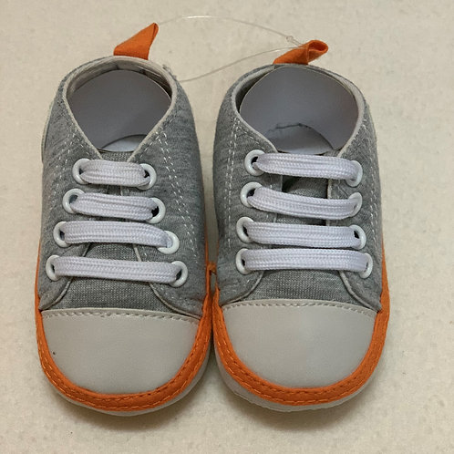 Baby boy grey shoes