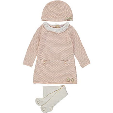 Catherine Malandrino Three Piece Peach Knit Outfit
