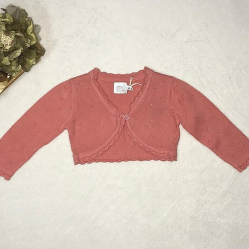 Baby Girl orange sweater