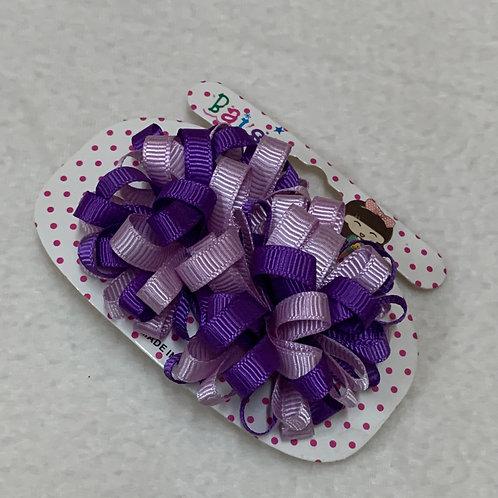Girls purple hair tie