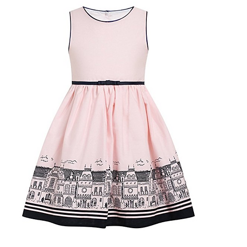 Toddler Girls pink dress