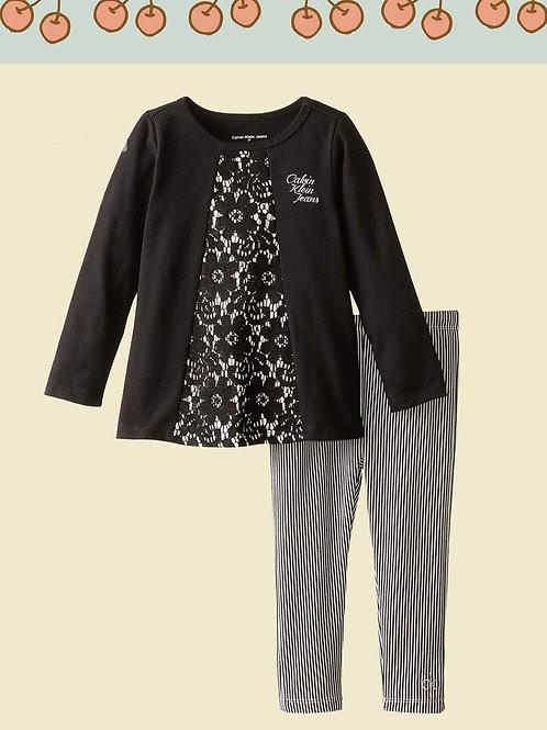 Calvin Klein Black Tunic , 2T