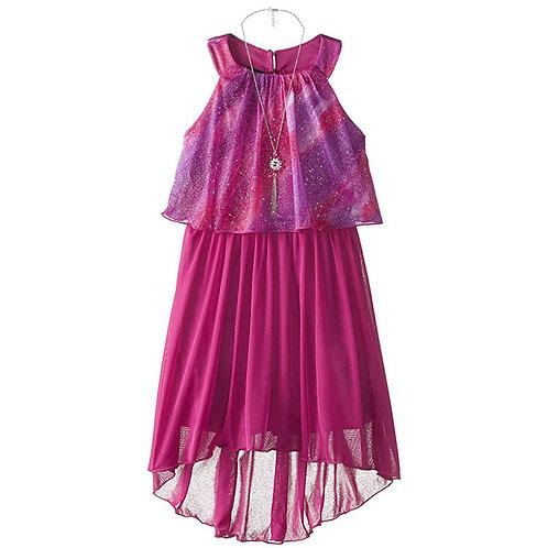 Amy Byer purple dress