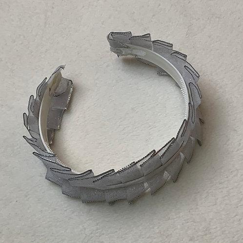 Girls Silver Headband