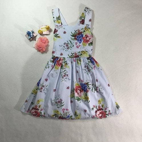 girls flowers dress