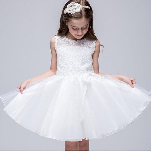 princess white dress