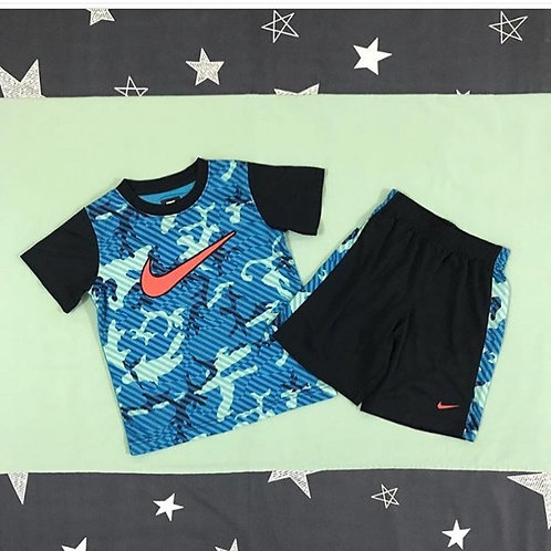 Nike blue boys set