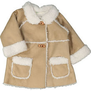 Benetton Beige Winter Coat