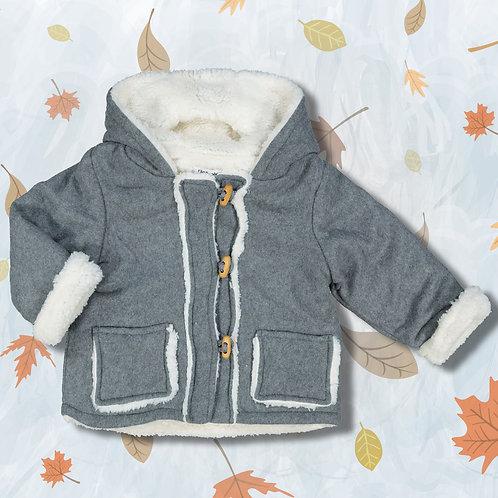 Babaluno Grey Duffle Coat