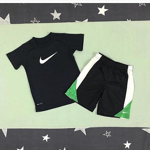 Nike navy boys set