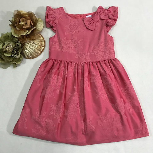 coral pink girl dress