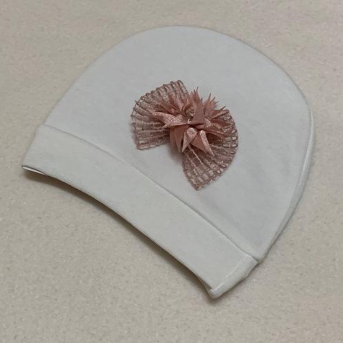 Baby girl flower hat