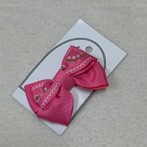 Girls pink clips