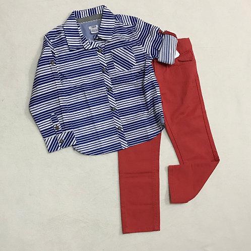 Blue & red boys set
