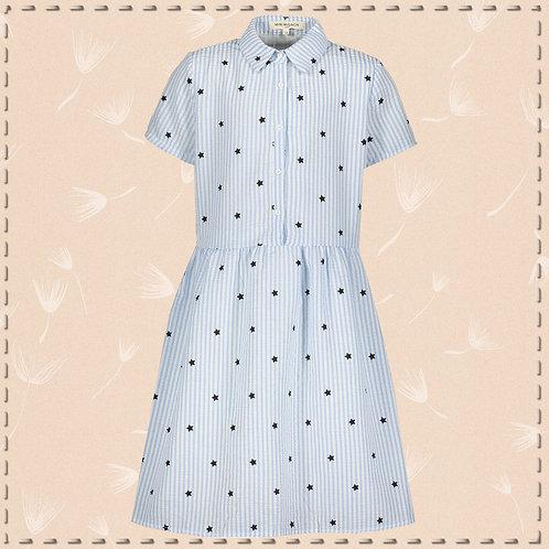 MINI MIGNON PARIS blue dress