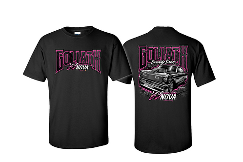 Goliath Twin Turbo Shirt-Black/Pink--LIMITED INVENTORY