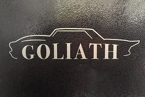 Goliath Decal