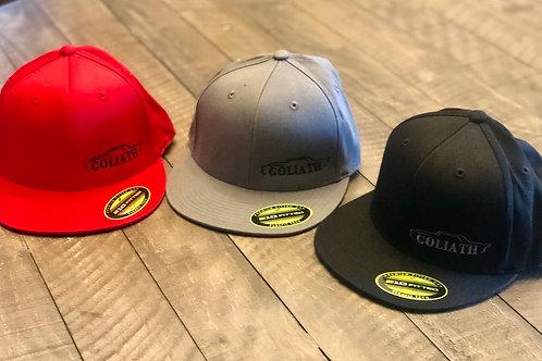Goliath Flex Fit OG Hat-Flat Bill
