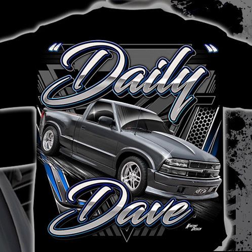 Daily Dave shirt back