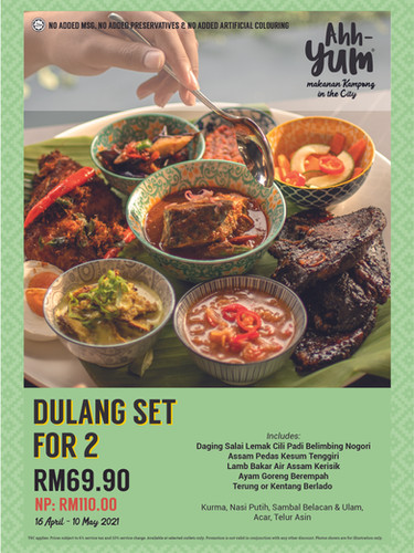 Ramadhan/Eid Promotion - Dulang For 2