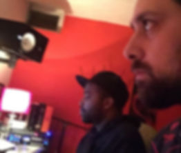 Working at Cash Money Studios with B.C.