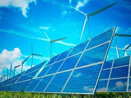 100% de energias renováveis significam 95% menos consumo de água na geração de energia elétrica