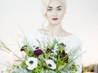 Bride & Tonic Feature - Industrial Luxe Bridal Shoot