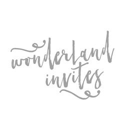 Wonderland Invites