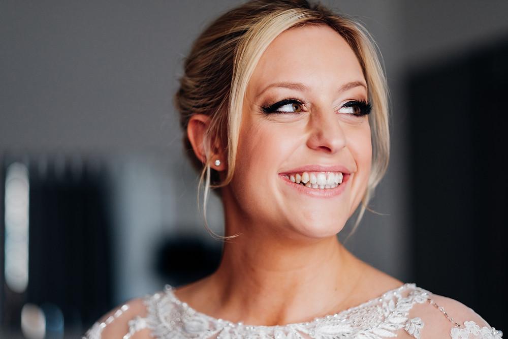 Stunning bride Sam