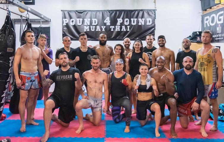 Pound 4 Pound Fitness Professional Team