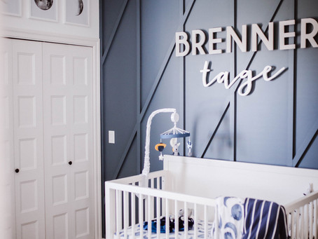 BRENNER'S SPACE-THEMED NURSERY