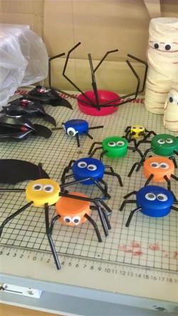 Talleres reciclaje: Halloween