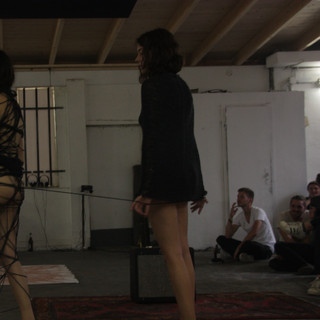 Performance 'Lets say we are endless'. Performed by Blanca Barbat and Sophie Bauler. Duration: 43 min.