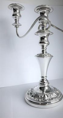 Silver Plating on Candelabra