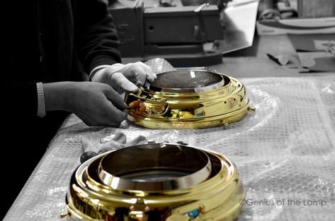 Lucas headlamp fabrication