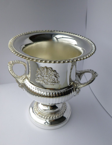 Mirror polished silver plating