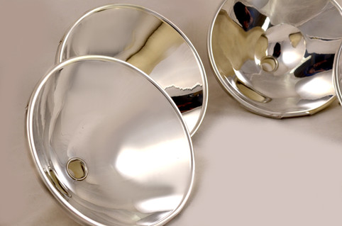 Silver plated reflectors