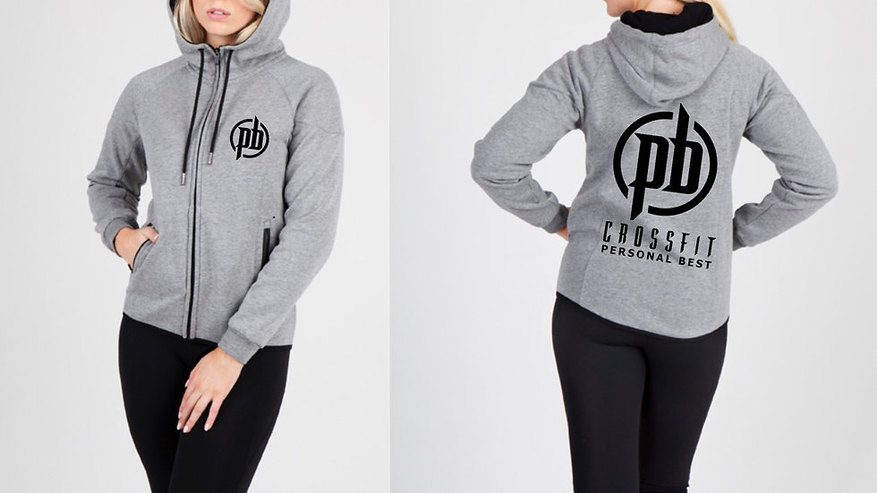 Ramo Ladies Fleece Zip Hoodie