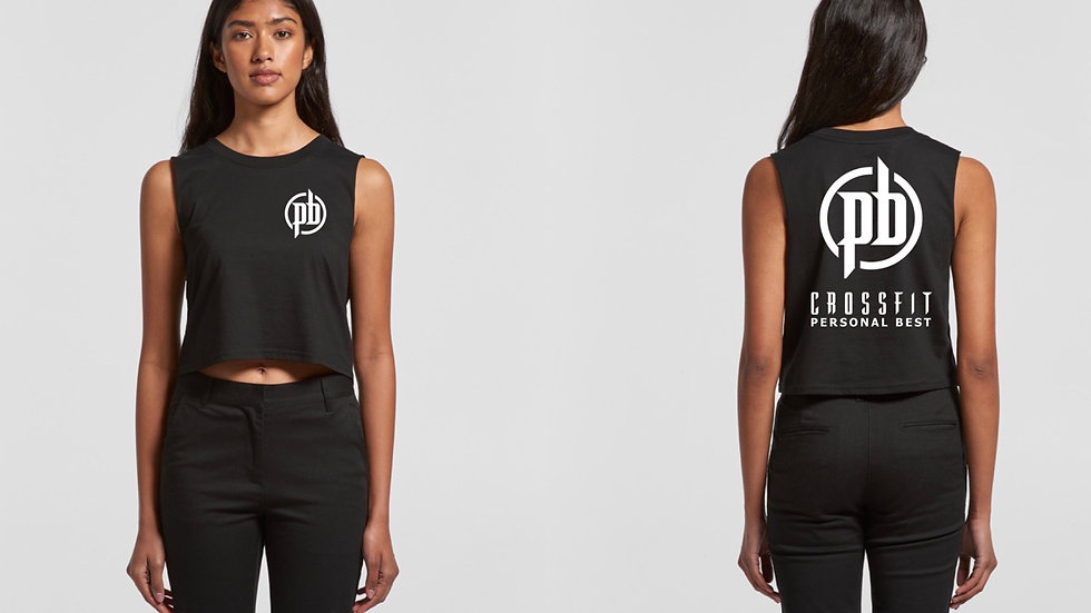 AS Colour Ladies Crop Muscle Tank