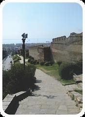 Byzantine Fortress Walls