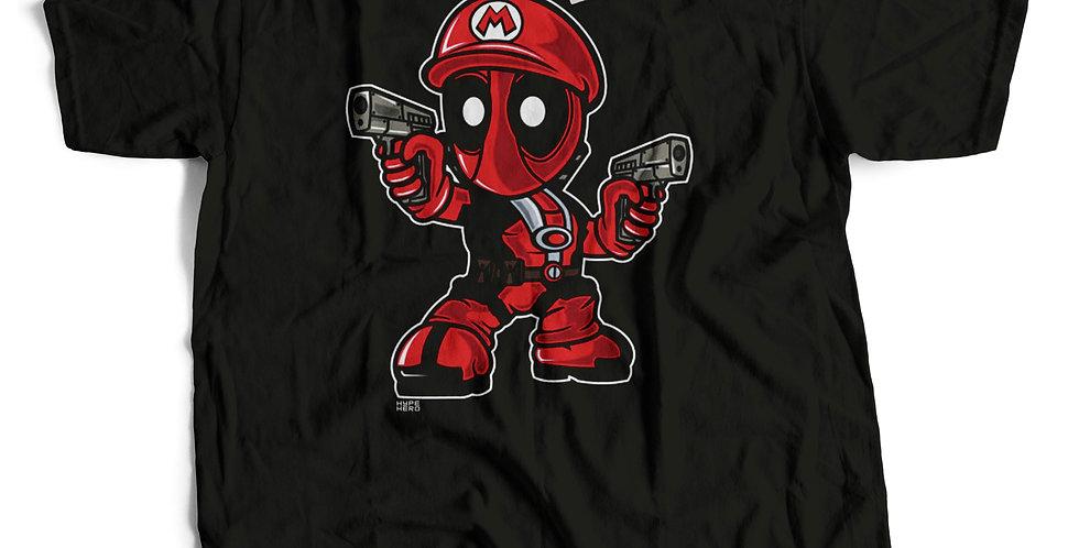 Camiseta Mario Deadpool
