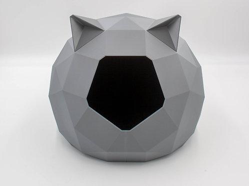 Grey Tao Cathouse with ears