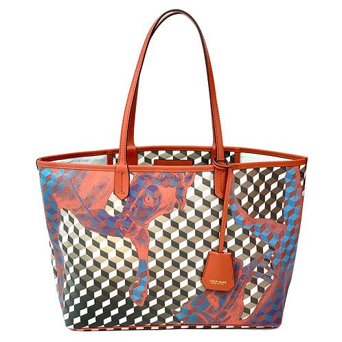 Loup Noir Handbag Shopper Brown/Brandy