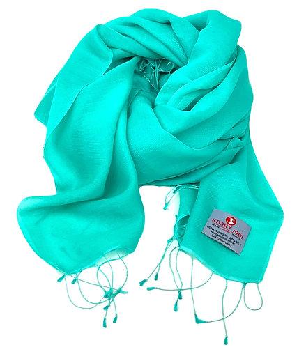 Waterpashmina Scarf Turquoise