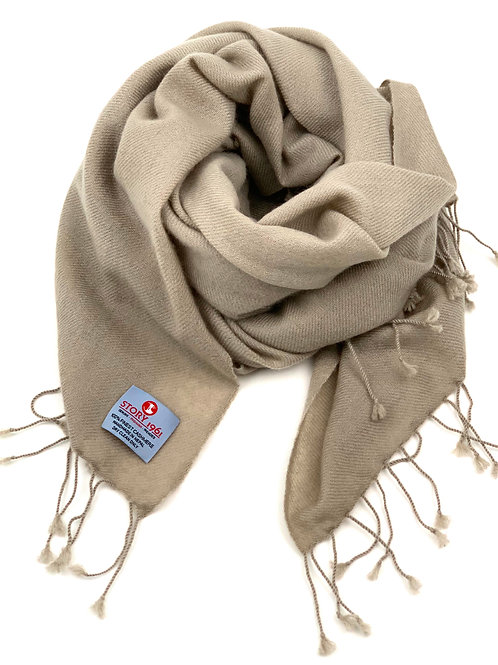 Stole Scarf Taupe