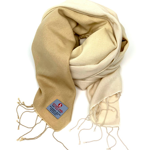 Genuine Scarf Camel meets Cream