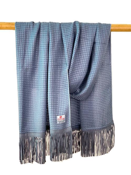 Nanglo Scarf Silver Blue
