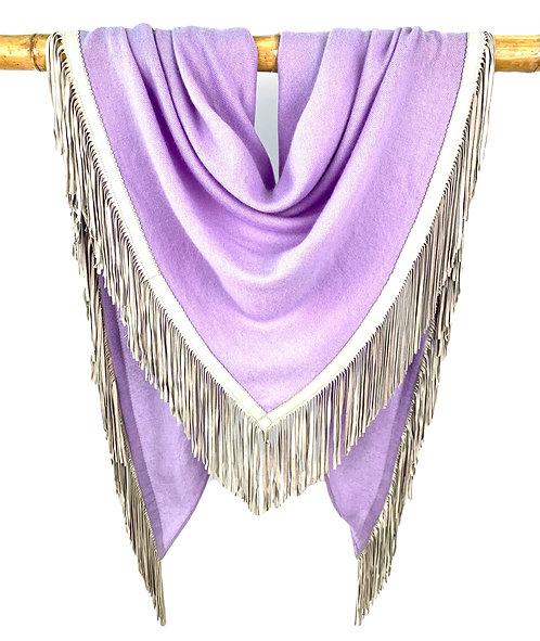 Open Poncho Lavender