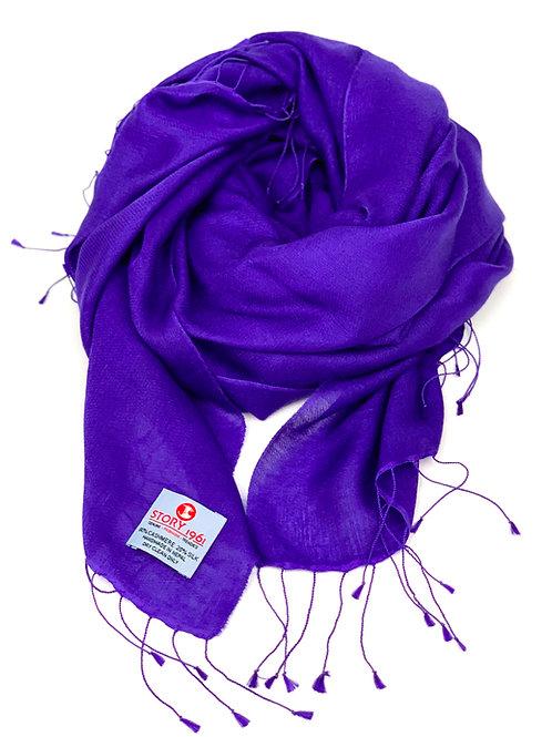 Waterpashmina Scarf Purple Blue