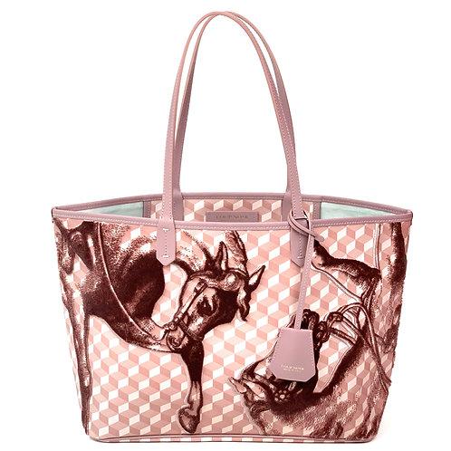 Loup Noir Handbag Shopper Ash Rose